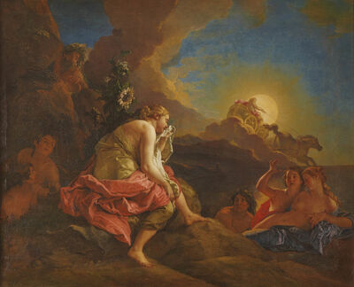 Charles de La Fosse, 'Clytie changée en tournesol (Clytia Changed into a Sunflower)', 1688
