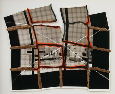 Thomas Barrow, 'f/t/s Modest Structures - Gridded Adobe ', 1979