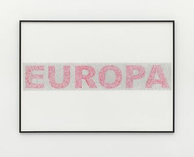 Runo Lagomarsino, 'Europa', 2017