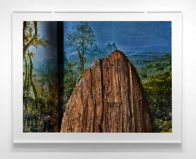 Abelardo Morell, 'Wood Chunk on Pieter Bruegel the Elder Book', 2019
