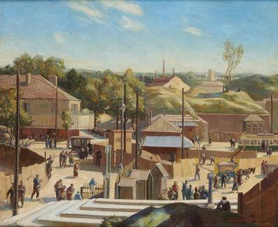 Charles Ernest Cundall, 'Porte St Cloud, Paris', 1922