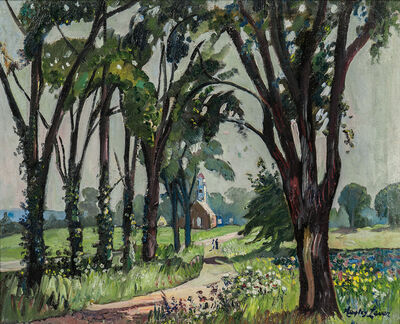Hayley Lever, 'Fairfield Church, New Jersey'