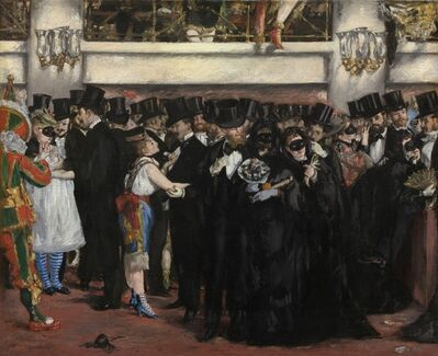 Édouard Manet, 'Masked Ball at the Opera', 1873