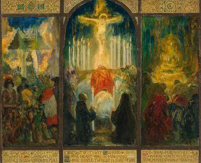 Francis Luis Mora, 'Devotion', 1932