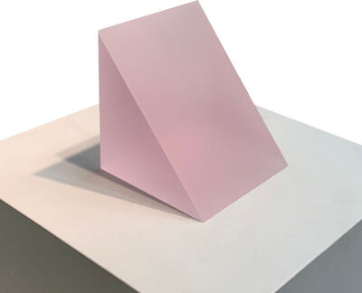 Peter Alexander, '3/20/18 (Frosted Pink Wedge)', 2018