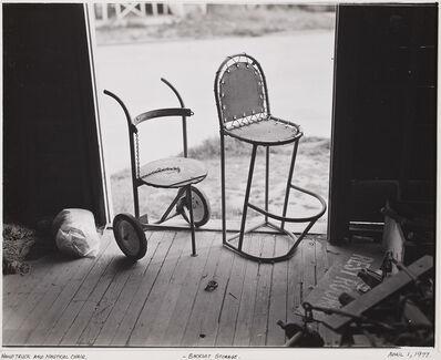 Robert Cumming, 'Hand Truck and Nautical Chair, Backlot Storage', 1977