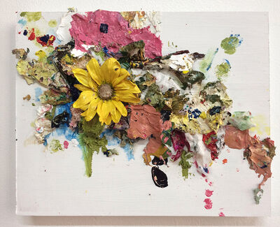 Sarah Meyers Brent, 'Floral Collage, White', 2018