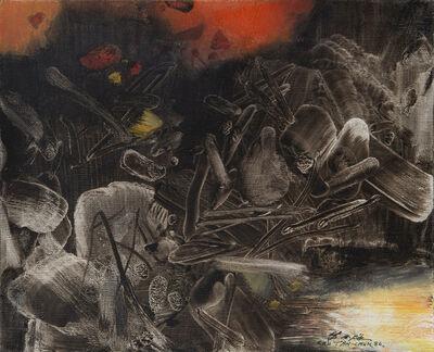 Chu Teh-Chun, 'Doigt X', 1986