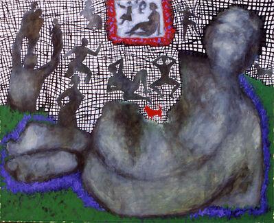 Sergio Tamassia, 'Storia del piccolo cane rosso', 2009