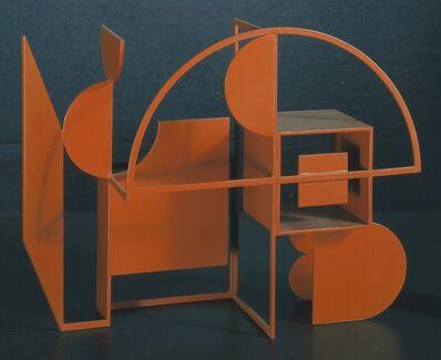 Manuel Felguérez, 'Tres sectores circulares [Three Circular Sectors]', 1976