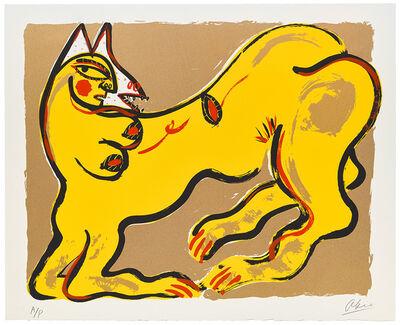 Akio Takamori, 'Potters and Prints Portfolio (yellow)', 1984