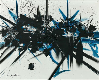 Georges Mathieu, 'Départ alarme III ', 1987