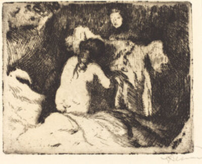 Albert Besnard, 'Getting Up (Le lever)', 1913