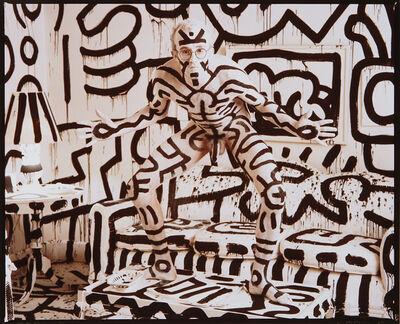 Annie Leibovitz, 'Keith Haring, New York', 1986