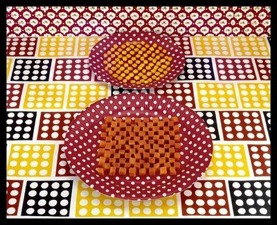 Sandy Skoglund, 'Cubed Carrots and Kernels of Corn', 1978