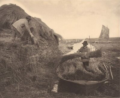 Peter Henry Emerson, 'Ricking the Reeds', 1886