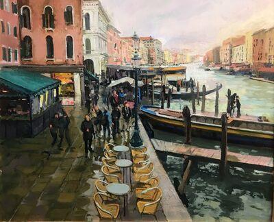 William Woodward, 'Venice in March', 2018