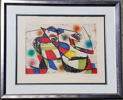 Joan Miró, 'Enrajolats III', 1979