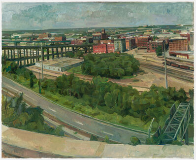 Wilbur Niewald, 'Kansas City, View of 12th St. Viaduct', 2014