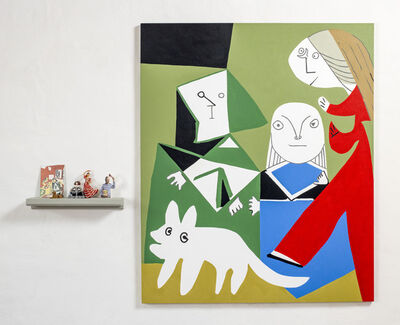 Elsa Zambrano, 'Meninas - Picasso', 2020