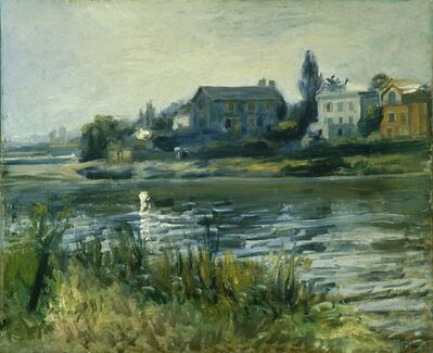 Pierre-Auguste Renoir, 'The Seine at Chatou (La Seine à Chatou)', ca. 1871