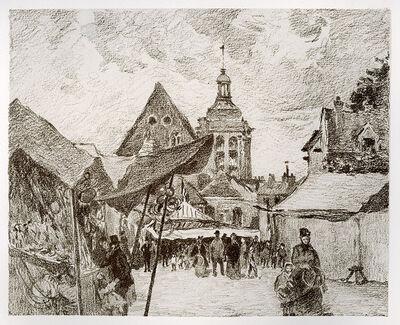 Camille Pissarro, 'Jour de Foire à Pontoise', 1895