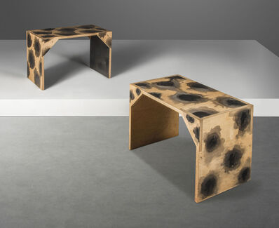 Howard Hodgkin, 'Two unique 'Liberty Room' tables', 1984