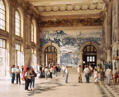 Andreas Gursky, 'Railway station in Porto ', 1988