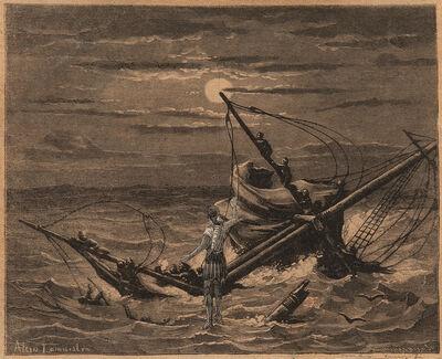 Max Ernst, 'Les naufragés barbares: Du haut du mat venez admirer le panorama', 1929-1930