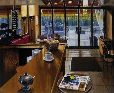 Sergio Ceccotti, 'Café parisien', 2010