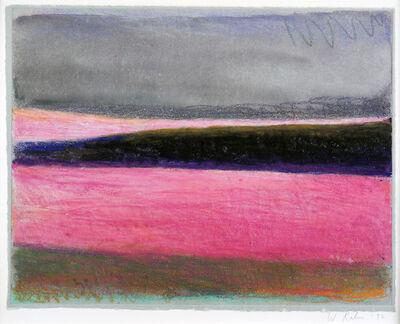 Wolf Kahn, 'Untitled (Magenta)', 1992