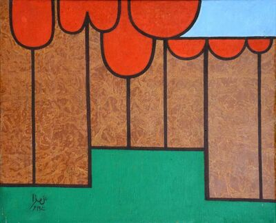 Anwar Jalal Shemza, 'Apple Trees ', 1970