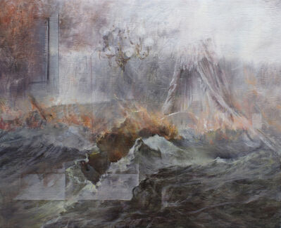 Fu Site 傅斯特, 'Flame and bed curtains 火焰和床幔', 2018