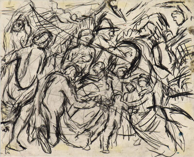 Leon Kossoff, 'From 'Minerva Protects Pax from Mars' by Rubens', 1980-1981