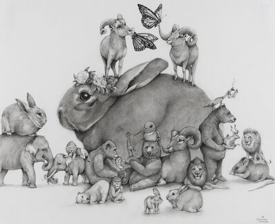 Adonna Khare, 'Bunny Tower', 2019