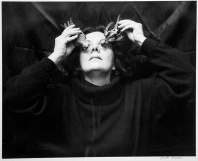 Graciela Iturbide, 'Autorretrato, Ojos para volar, Coyoacán', 1996