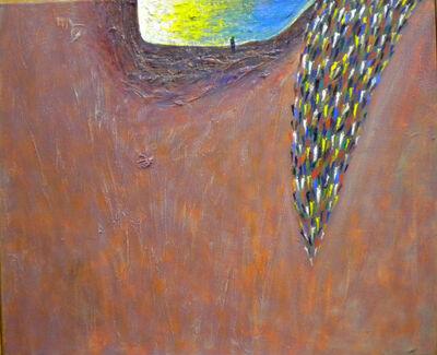 Gunter Damisch, 'Lachsfeld Horizontlochsteher', 2007