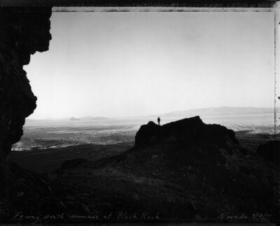 Mark Klett, 'Facing South, Sunrise at Black Rock, NV, 9/18/00', 2000