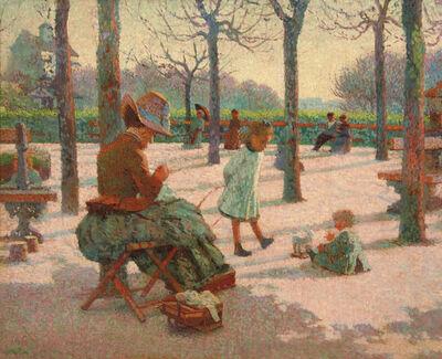 Claude Emile Schuffenecker, 'Les Enfants au parc Montsouris', 1886
