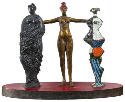 Salvatore Fiume, 'Le tre grazie', 1988