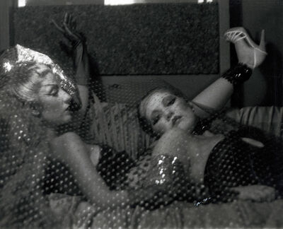 Patssi Valdez, 'Reclining (Betty Salas and Gloria)', ca. 1980