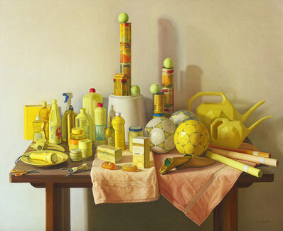Claudio Bravo, 'Yellow Marjana', 2008