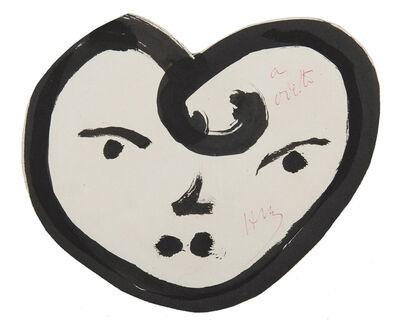 Henri Matisse, 'Cœur-visage', Unknown
