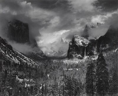 Ansel Adams, 'Clearing Winter Storm, Yosemite National Park, CA', 1944