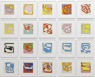 Heinz Butz, 'Ohne Titel - 20 drawings', 2007-2008