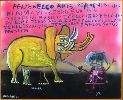 Víctor Hugo Pérez, 'El elefante', 2014