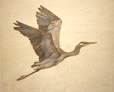 Alexandra Bowers, 'The Great Blue Heron II', 2019