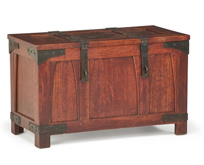 Gustav Stickley, 'Bride's chest with iron hardware, Eastwood, NY', ca. 1940