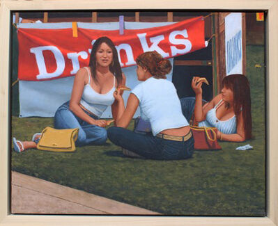 "William Glen Crooks, '""The Pizza Eaters""', 2019"