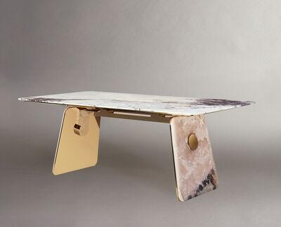 Studio MVW, 'JinShi Pink Jade Table', 2019